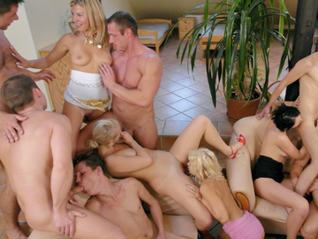 Gangbang and group sex orgies