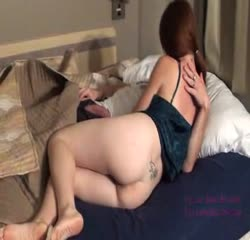 Daughter forces daddy to fuck